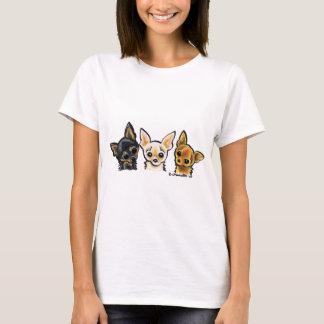 Smooth Chihuahua Trio T-Shirt