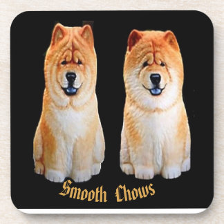 Smooth Chow  Coasters