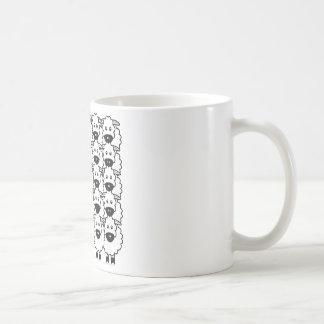 Smooth-Coated Border Collie in the Sheep Coffee Mug