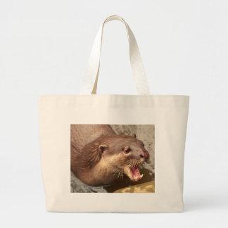 Smooth Coated Otter Jumbo Tote Bag