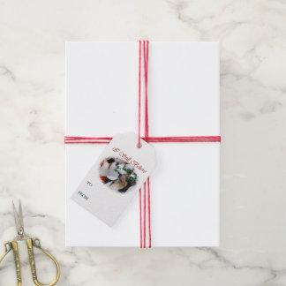 Smooth Collie Christmas Gift Tags