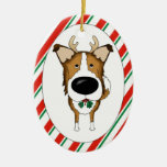 Smooth Collie Christmas Ornament
