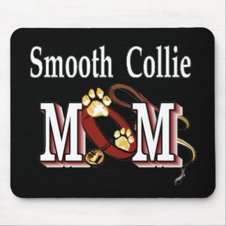 Smooth Collie Dog Mom Gifts Mouse Pad