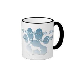 Smooth Collie Grandchildren Ringer Coffee Mug
