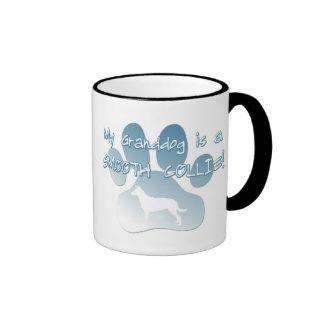 Smooth Collie Granddog Ringer Coffee Mug