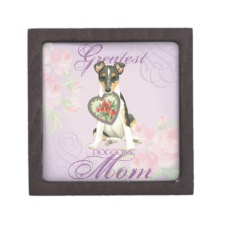 Smooth Collie Heart Mom Gift Box