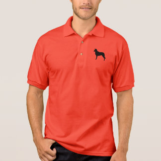 Smooth Collie Silhouette Polo Shirt