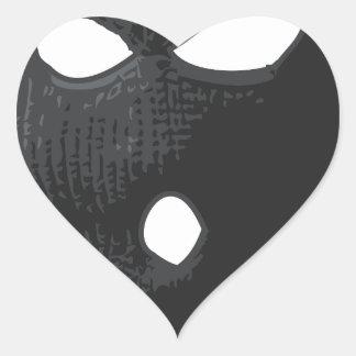 Smooth Criminal Heart Sticker