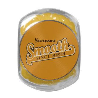 SMOOTH custom jars & tins Jelly Belly Candy Jar