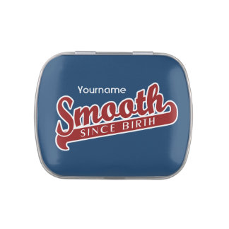 SMOOTH custom jars & tins Jelly Belly Candy Tins