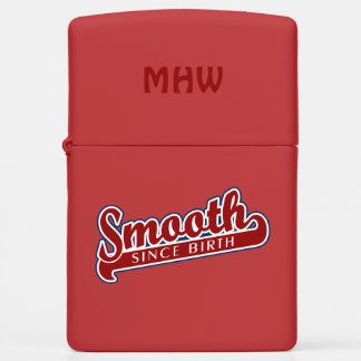 SMOOTH custom monogram lighter