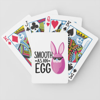 Smooth Egg Bicycle Playing Cards
