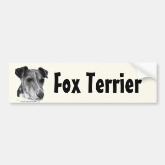 Smooth Fox Terrier Bumper Stickers