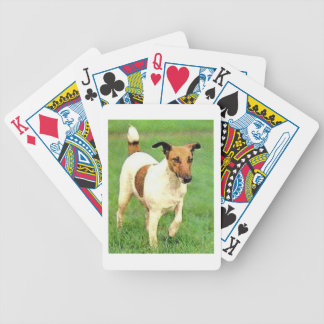 Smooth Fox Terrier Dog Playing Cards