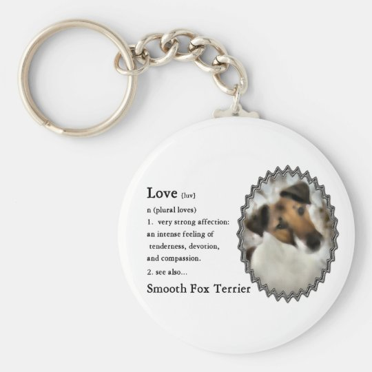 Smooth Fox Terrier Gifts Keychain