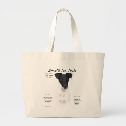Smooth Fox Terrier History Design Bags