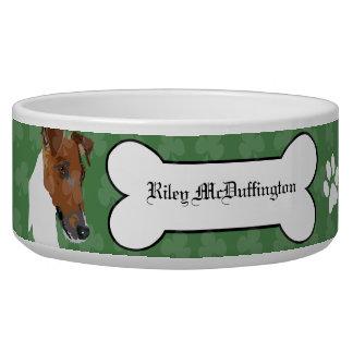 Smooth Fox Terrier Irish Pet Dog Food Bowl
