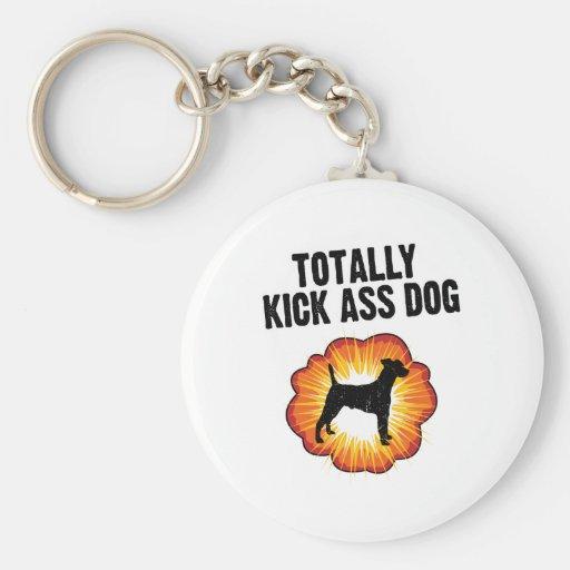 Smooth Fox Terrier Keychain