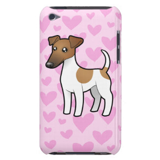 Smooth Fox Terrier Love Barely There iPod Cover