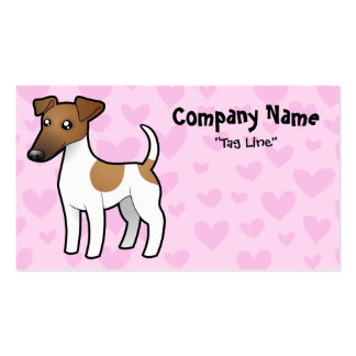 Smooth Fox Terrier Love Business Card