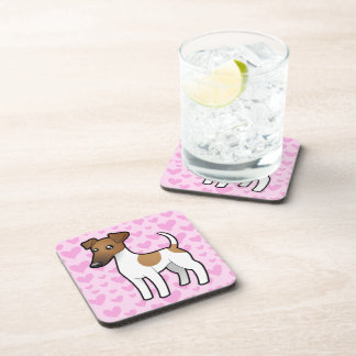 Smooth Fox Terrier Love Coaster