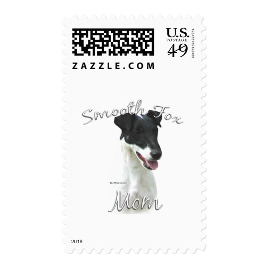 Smooth Fox Terrier Mom 2 Postage