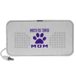 Smooth Fox Terrier Mom Gifts Designs Mp3 Speakers