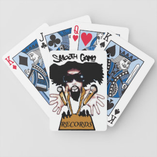 Smooth Game Records Bicycle Playing Cards