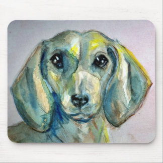 Smooth Haired Dachshund Mouse Pad