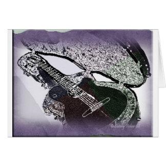Smooth Jazz Guitar Card