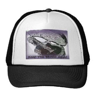 Smooth Jazz Guitar Trucker Hat