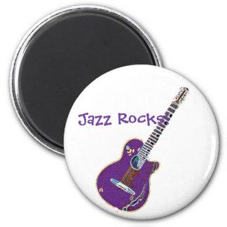 Smooth JazzArt 2 Inch Round Magnet