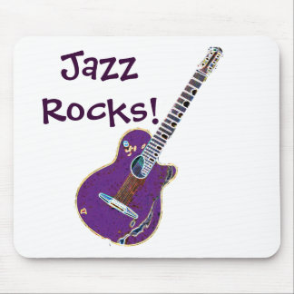 Smooth JazzArt Mouse Pad