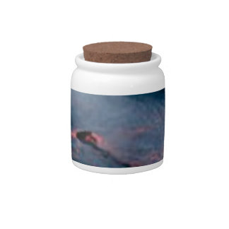 smooth lava river candy jar