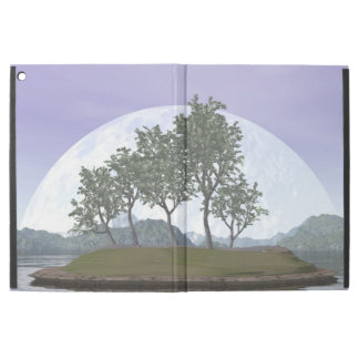 "Smooth leaved elm bonsai tree - 3D render iPad Pro 12.9"" Case"
