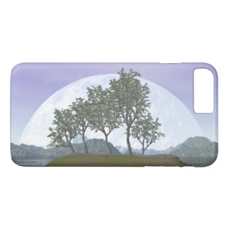 Smooth leaved elm bonsai tree - 3D render iPhone 8 Plus/7 Plus Case
