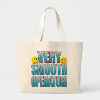 Smooth Life B Large Tote Bag