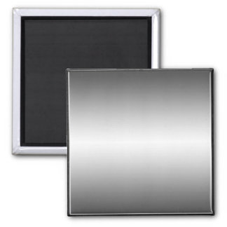 Smooth Metal Look Plate Magnet