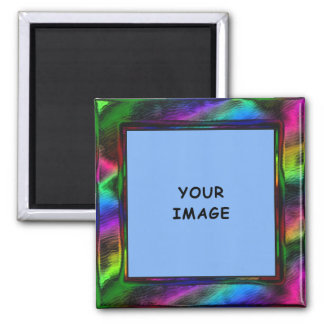 Smooth Metal Rainbow Magnet