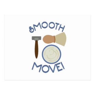 Smooth Move! Postcard