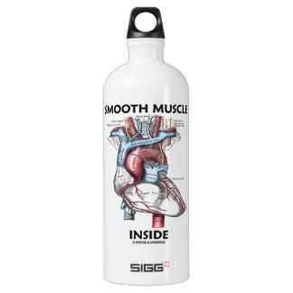 Smooth Muscle Inside (Gray's Anatomy Heart) Water Bottle