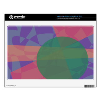 Smooth Music Decal For Medium Netbook