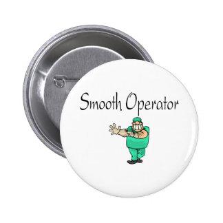 Smooth Operator 2 Inch Round Button