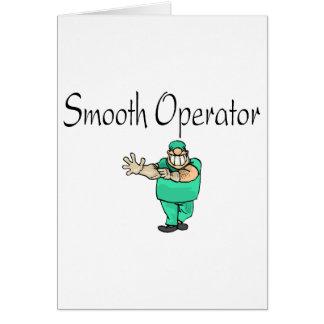 Smooth Operator Greeting Card