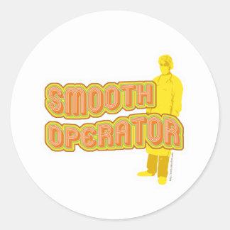 Smooth Operator Classic Round Sticker