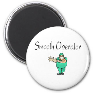 Smooth Operator 2 Inch Round Magnet