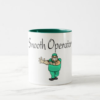 Smooth Operator Two-Tone Coffee Mug