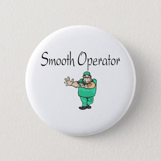 Smooth Operator Pinback Button