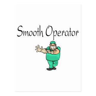 Smooth Operator Postcard