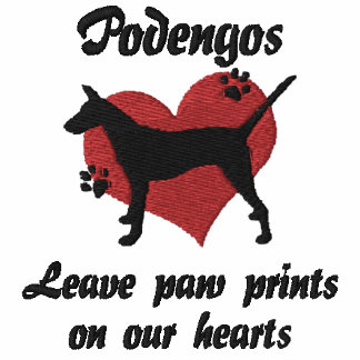 Smooth Portuguese Podengos Leave Paw Prints